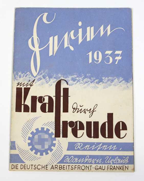 Ferien 1937 - mit Kraft durch Freude - photo 1