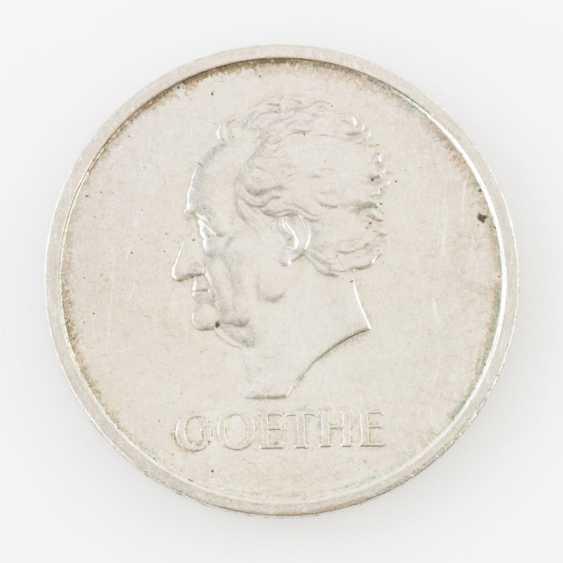 Weimar Republic - 5 Reichsmark, Goethe, - photo 1