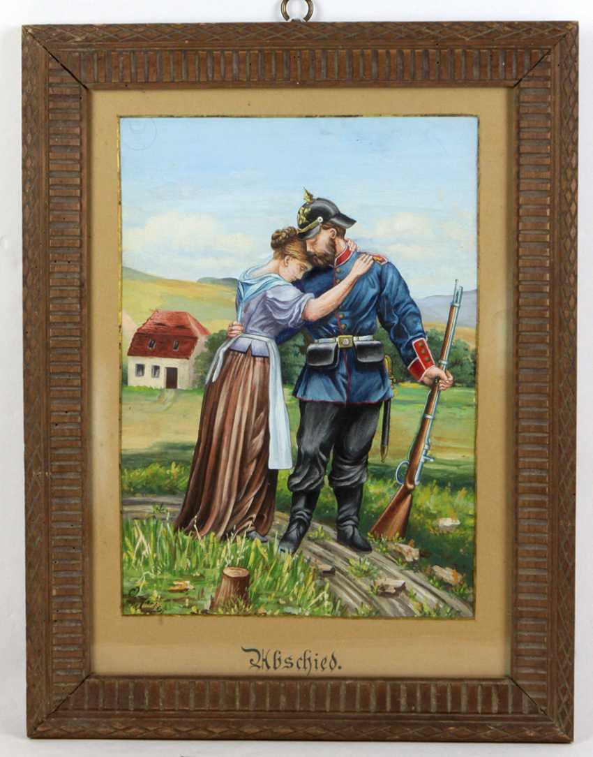 Reservisten Bild *Abschied* 1898 - photo 1