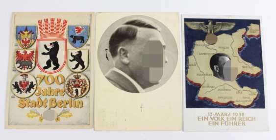 3 patriotische Karten - photo 1