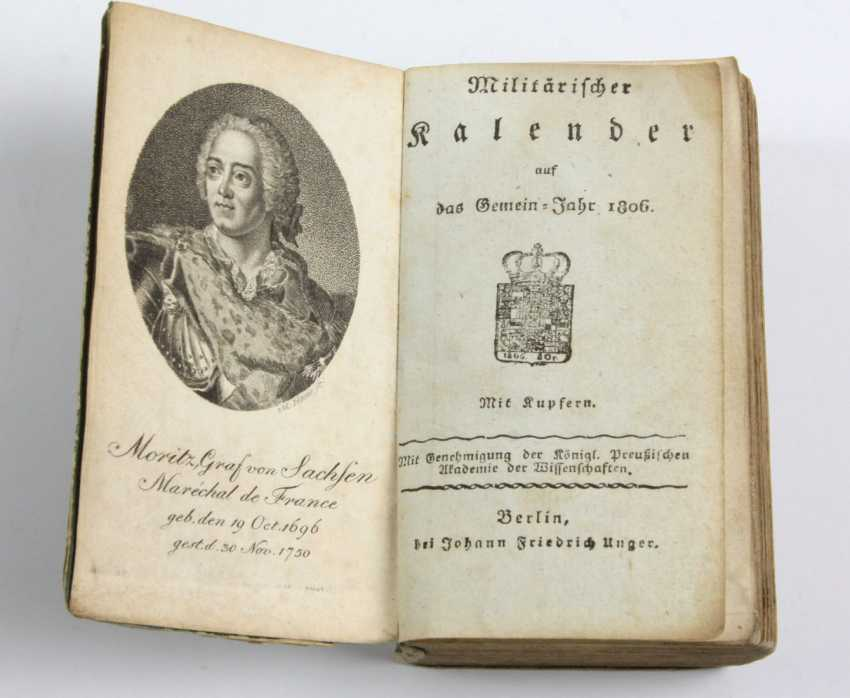 Militär-Kalender 1806 - photo 1