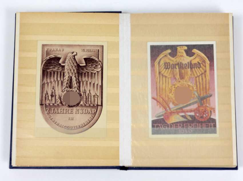 Sammlung patriotische Karten u. Marken - photo 1