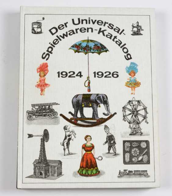Der Universal- Spielwaren- Katalog 1924 - 1926 - photo 1