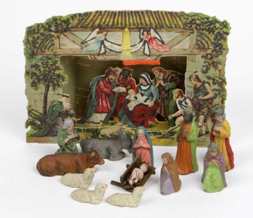 Krippen Diorama Bethlehem - photo 1