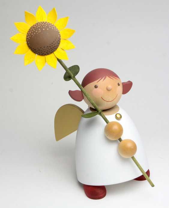 Schutzengel mit Sonnenblume - photo 1