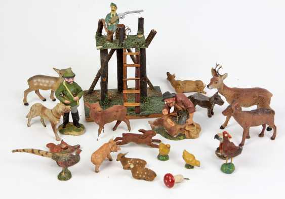 Massetiere u. Jägerfiguren 1920er Jahre - photo 1