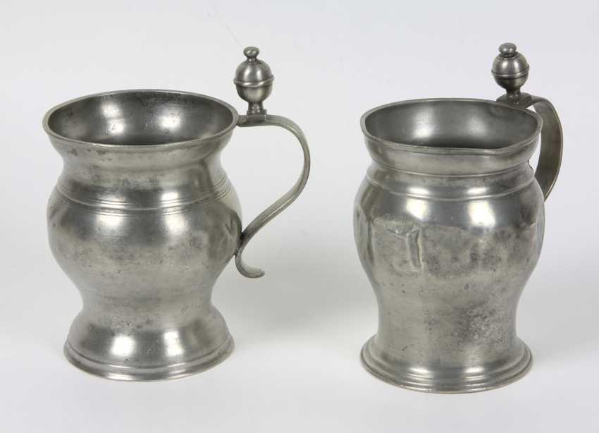 2 Henkelbecher um 1790/1830 - photo 1