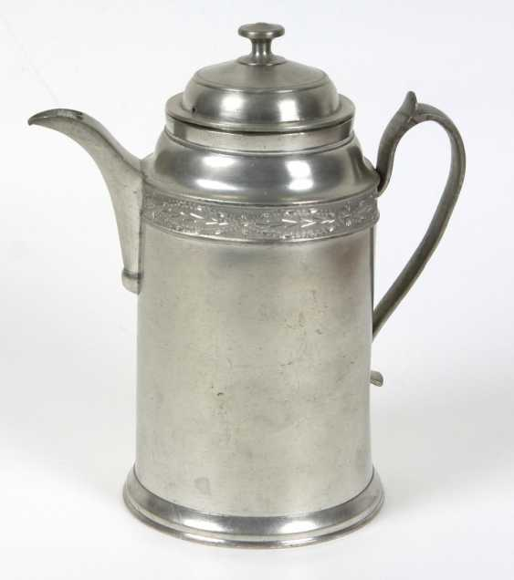 Biedermeier Kaffeekanne um 1840 - photo 1