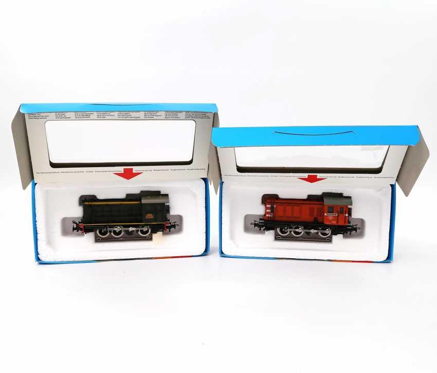 MÄRKLIN, two diesel locomotives 3138/3145, gauge H0, - photo 1