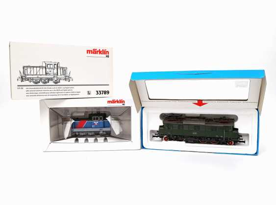 MÄRKLIN E-Lok 3049 and diesel 33789, gauge H0, - photo 1