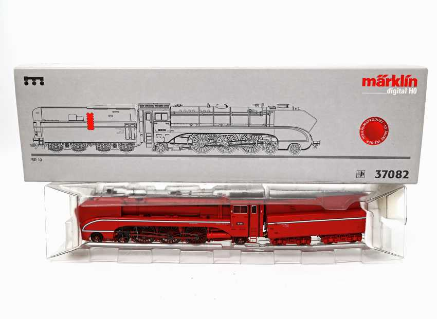 MÄRKLIN Towing tank engine 37082, gauge H0, - photo 1