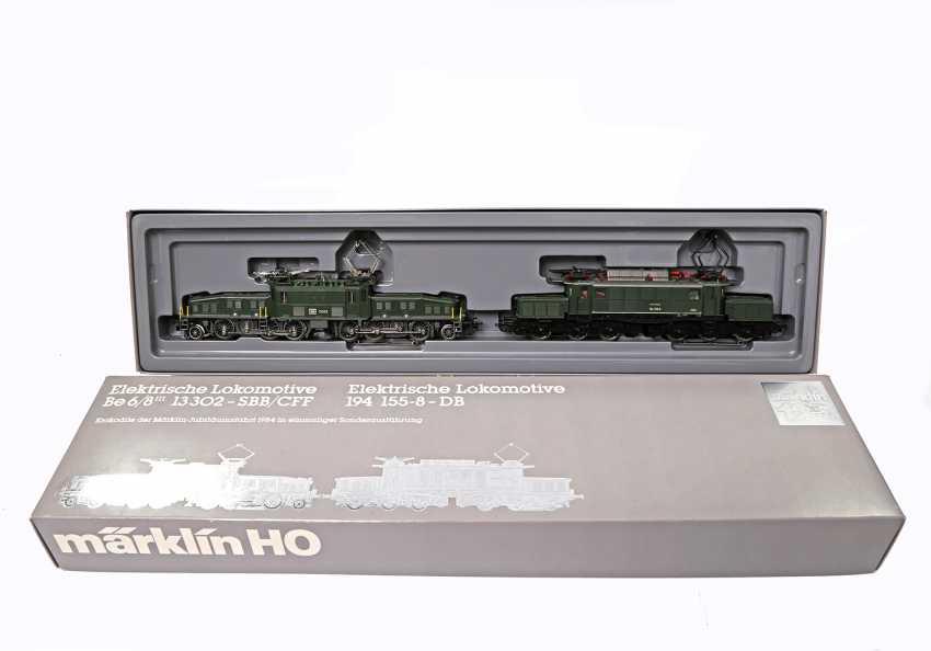 """MÄRKLIN anniversary pack """"crocodiles"""" 3300, gauge H0, - photo 1"""
