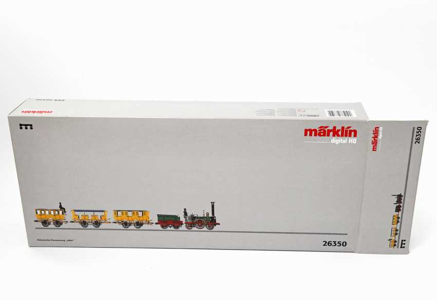 "MÄRKLIN Historic train ""Adler"" 26350, gauge H0, - photo 3"