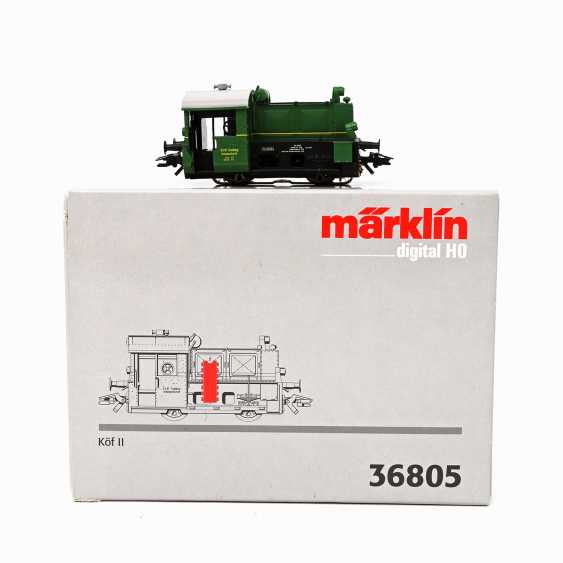 MÄRKLIN Diesel shunting locomotive 36805, gauge H0, - photo 1