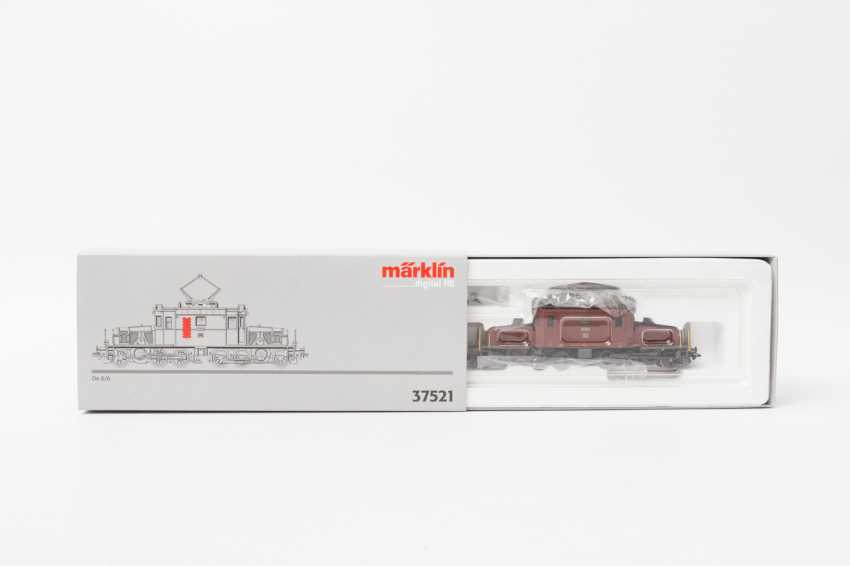 MARKLIN E-locomotive 37521, gauge H0, - photo 1