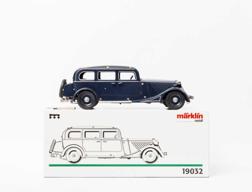 Anleitung Brillant Reprobox Für Den Distler Mercedes Original, Gefertigt 1945-1970 Antikspielzeug
