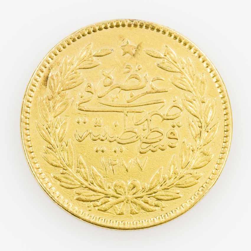 Turkey/Gold 500 Piastres 1868/Constantinople