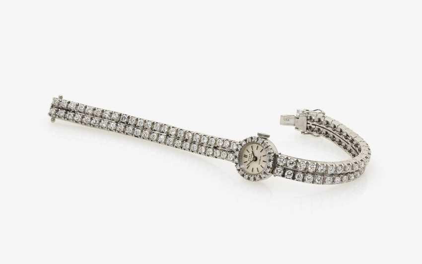 Ladies ' wristwatch with brilliants - photo 1