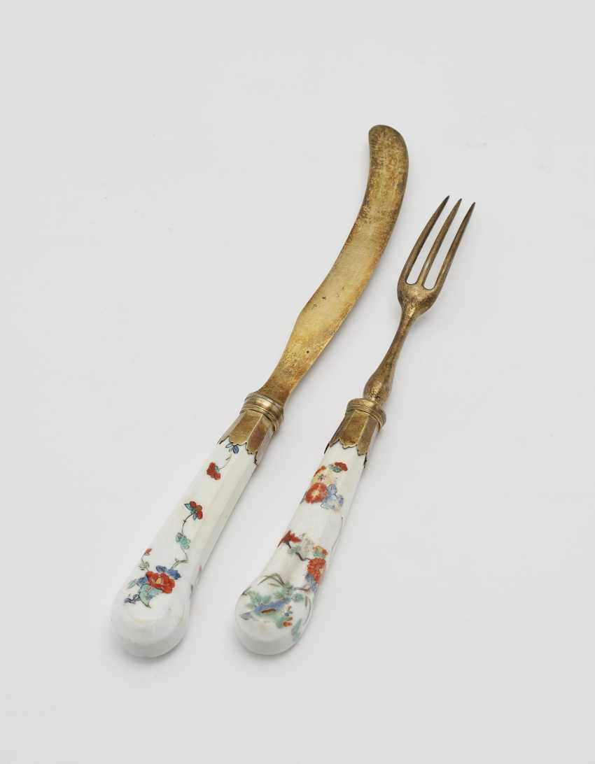 A knife and fork - photo 1