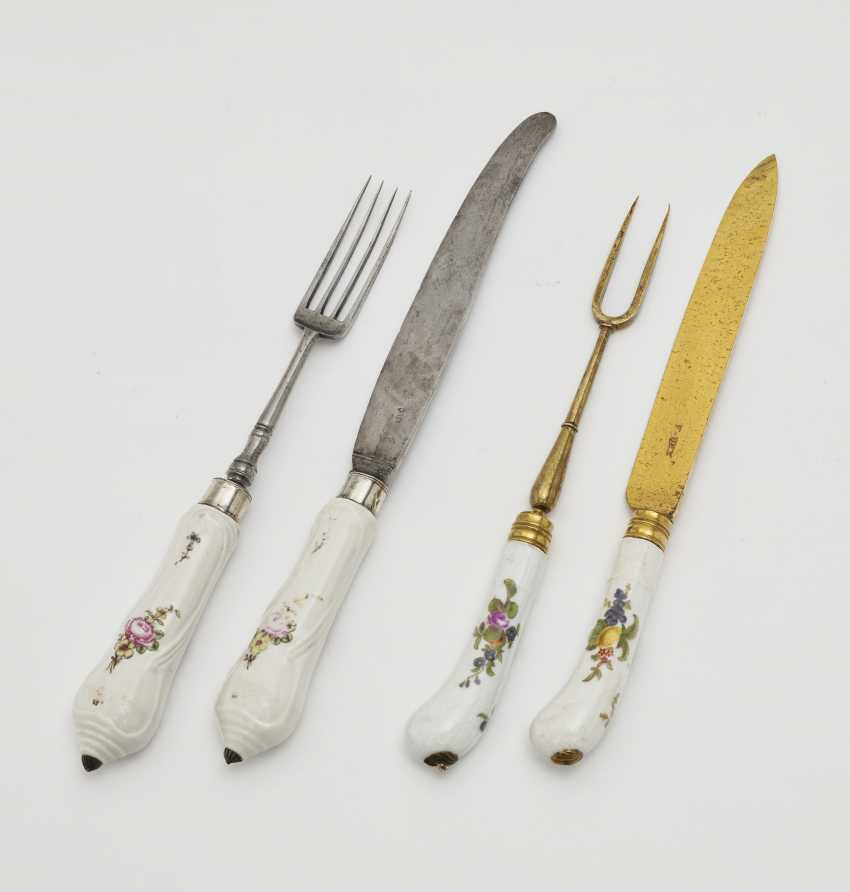 Two sets of Cutlery consisting of a knife and fork - photo 1