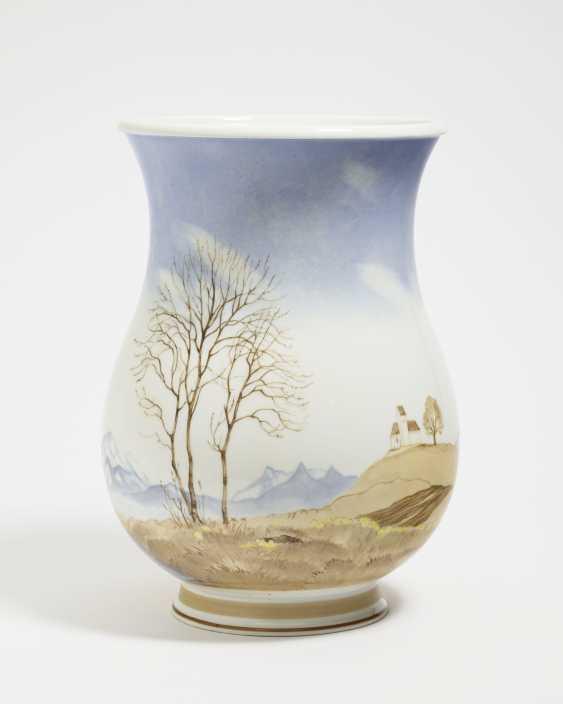 """Vase """"early spring in upper Bavaria"""" - photo 1"""