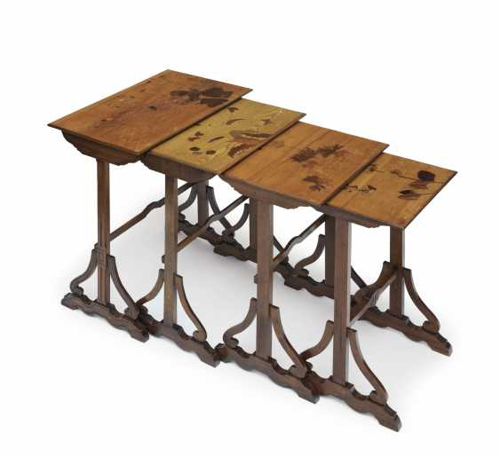Set of tables, four-piece - photo 1