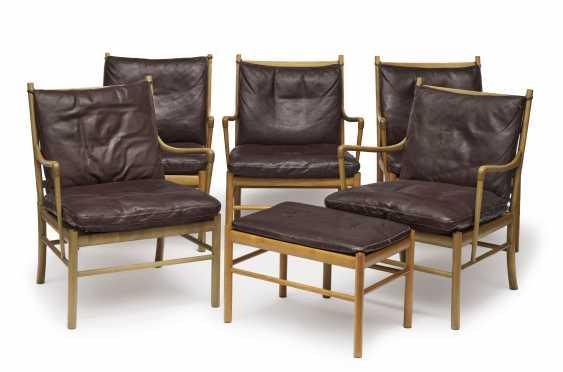 Five armchair 'Colonial armchair, PJ 149' - photo 1