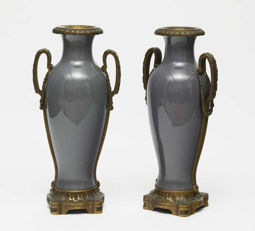 A Pair Of Ornamental Vases - photo 1