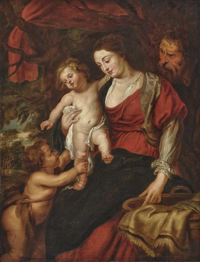 The Holy family with Saint John - photo 1