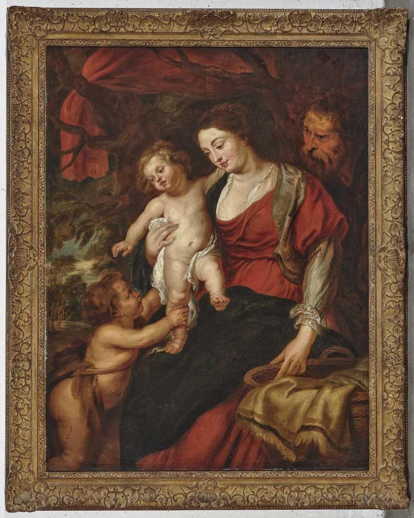 The Holy family with Saint John - photo 2