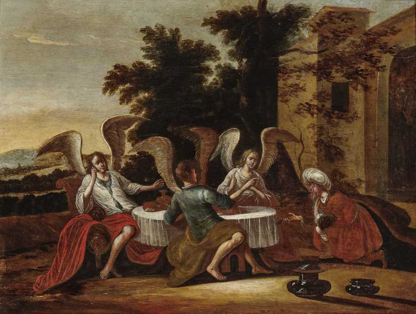 Abraham hosted the three angels - photo 1