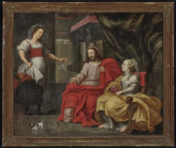 Christ in the house of Mary and Martha - photo 2