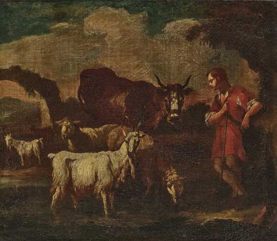 A shepherd with cattle - photo 1