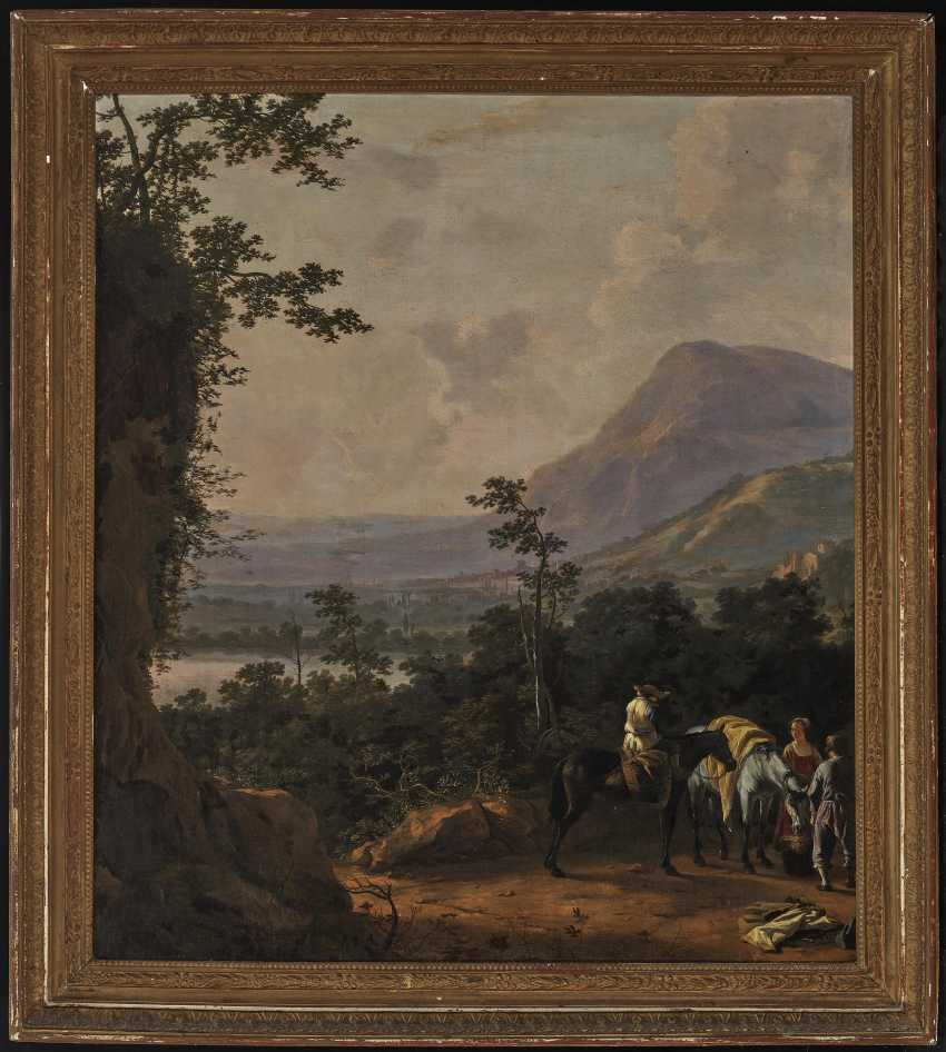 Southern landscape with figure staffage - photo 2