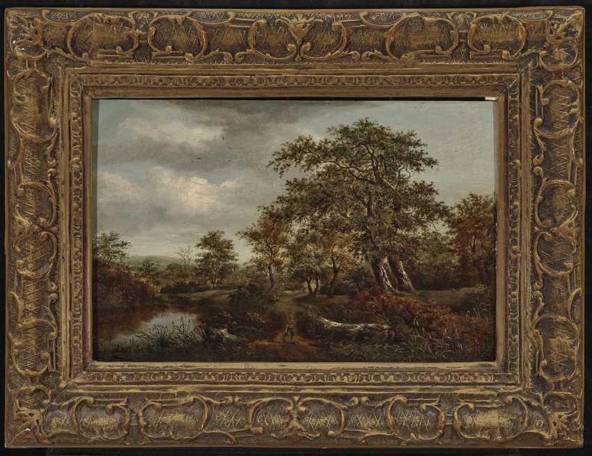 Tree landscape with figure staffage - photo 2