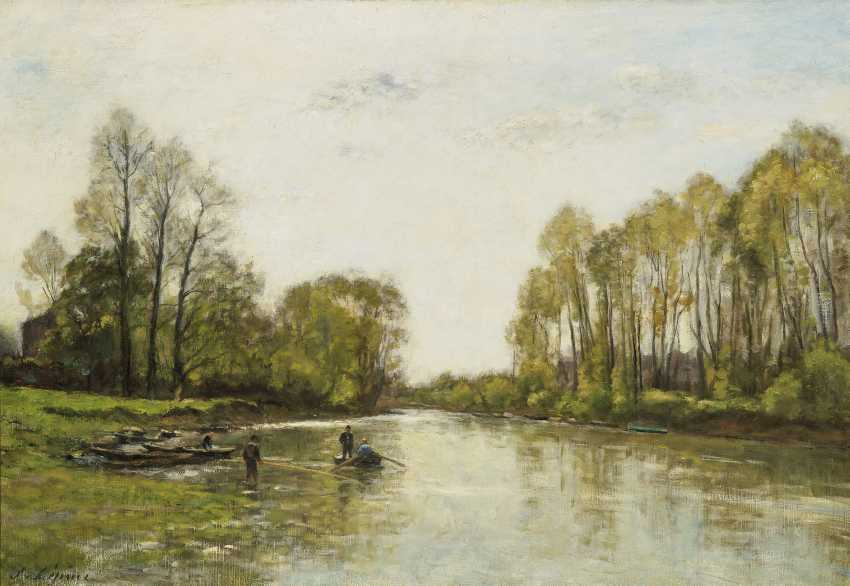 The banks of the Seine. The poplars - photo 1