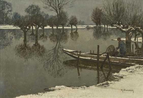 Winter Rheinau Landscape - photo 1