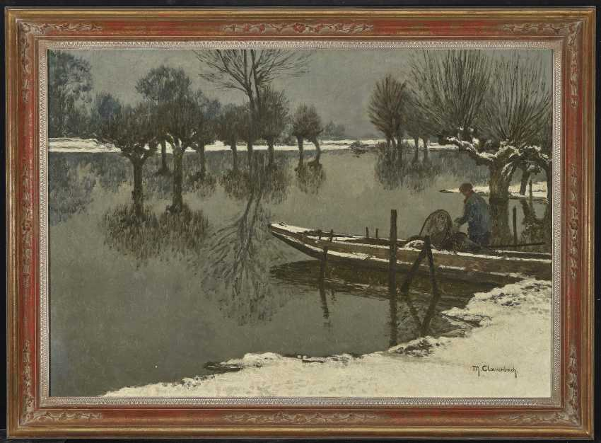 Winter Rheinau Landscape - photo 2
