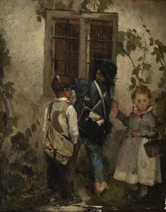 Children at the window - photo 1