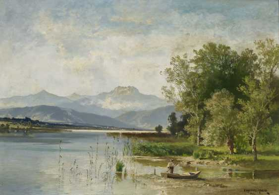 On the shore of lake Chiemsee - photo 1