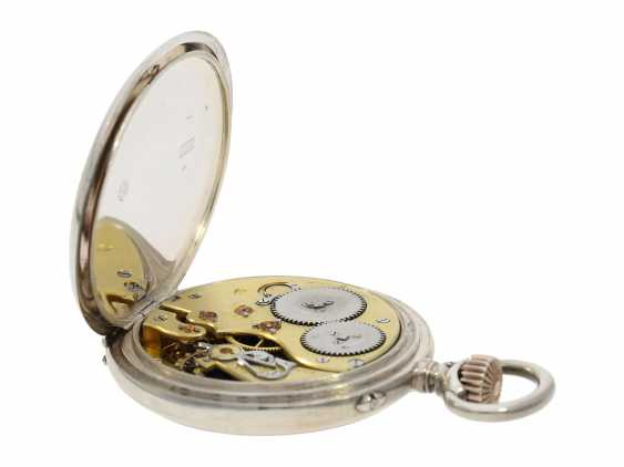 Pocket watch: IWC man's pocket watch with very rare 2-coloured dial, No. 309843, Schaffhausen CA. 1906 - photo 5