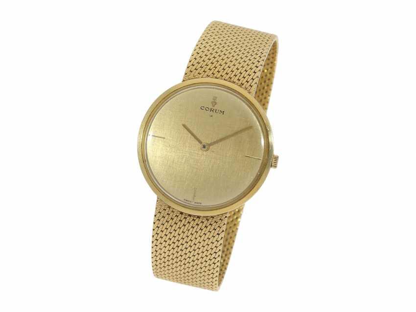 Watch: vintage luxury watch brand Corum, probably around 1950 - photo 2