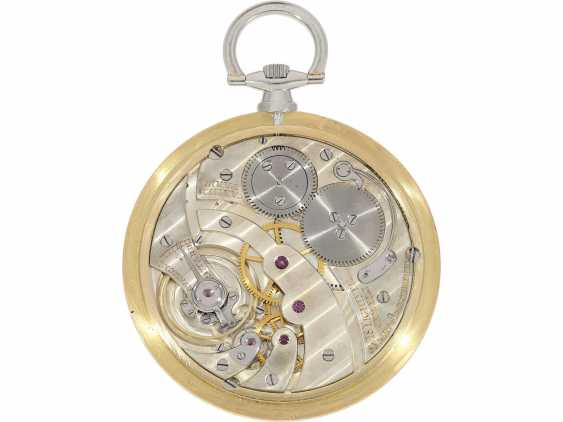 Pocket watch: unique, historically significant Cartier pocket watch with original box, a gift from the English Royal family, under George V, at the same time the Emperor of India, to an Indian Prince-house, including archive information, by Cartier - photo 9