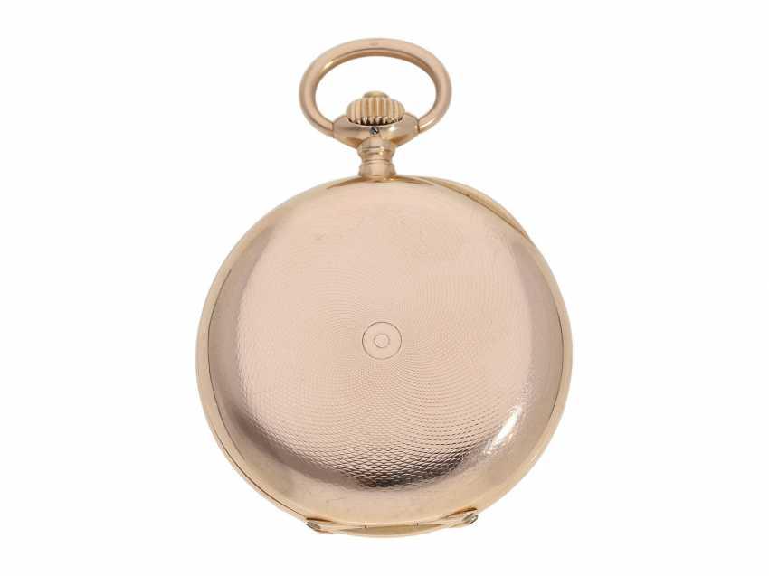 Pocket watch: red gold glashütte precision pocket watch, Julius Assmann No. 12814, CA. 1900 - photo 7