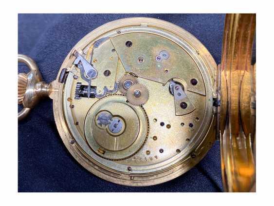 Pocket watch: Patek Philippe Anker chronometer, gold savonnette No. 67197, Geneva, CA. 1890 - photo 8