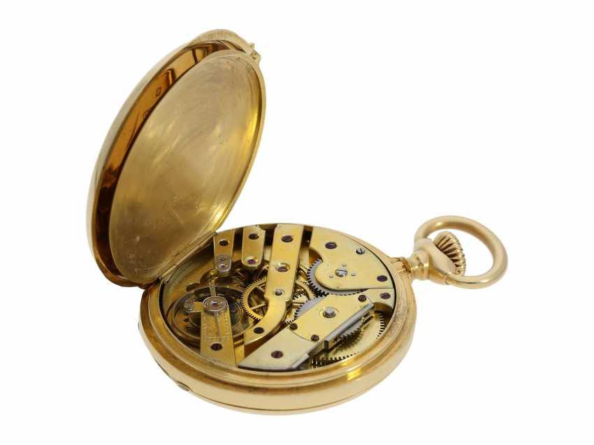 Pocket watch: Patek Philippe Anker chronometer, gold savonnette No. 67197, Geneva, CA. 1890 - photo 9