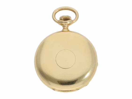 Pocket watch: Patek Philippe Anker chronometer, gold savonnette No. 67197, Geneva, CA. 1890 - photo 10
