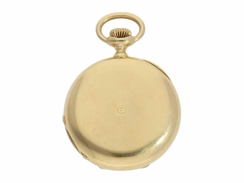 Pocket watch: Patek Philippe Anker chronometer, gold savonnette No. 67197, Geneva, CA. 1890 - photo 11