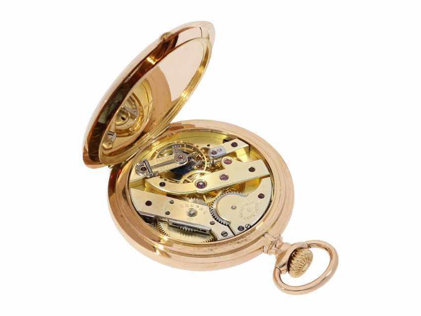 Pocket watch: extremely high-quality, heavy 18K rose gold Anchor chronometer by Vacheron & Constantin, probably an Observatory caliber, No 326982, Geneva, CA. 1909 - photo 2