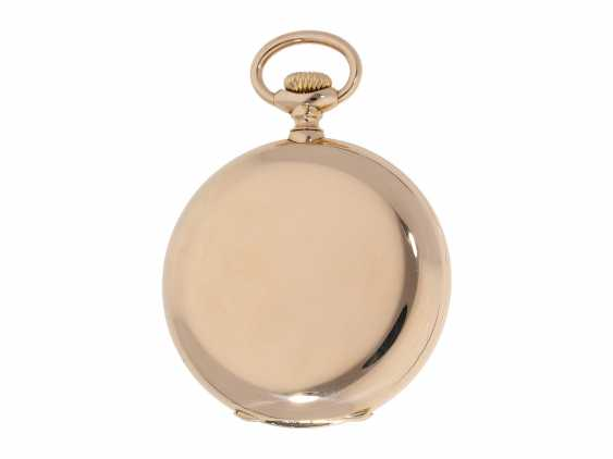 Pocket watch: extremely high-quality, heavy 18K rose gold Anchor chronometer by Vacheron & Constantin, probably an Observatory caliber, No 326982, Geneva, CA. 1909 - photo 4